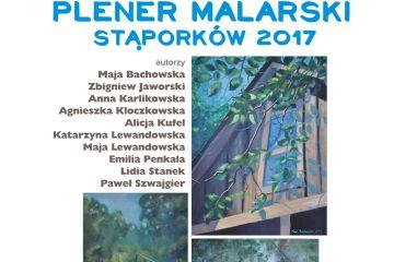 Plener malarski Stąporków 2017 - wystawa